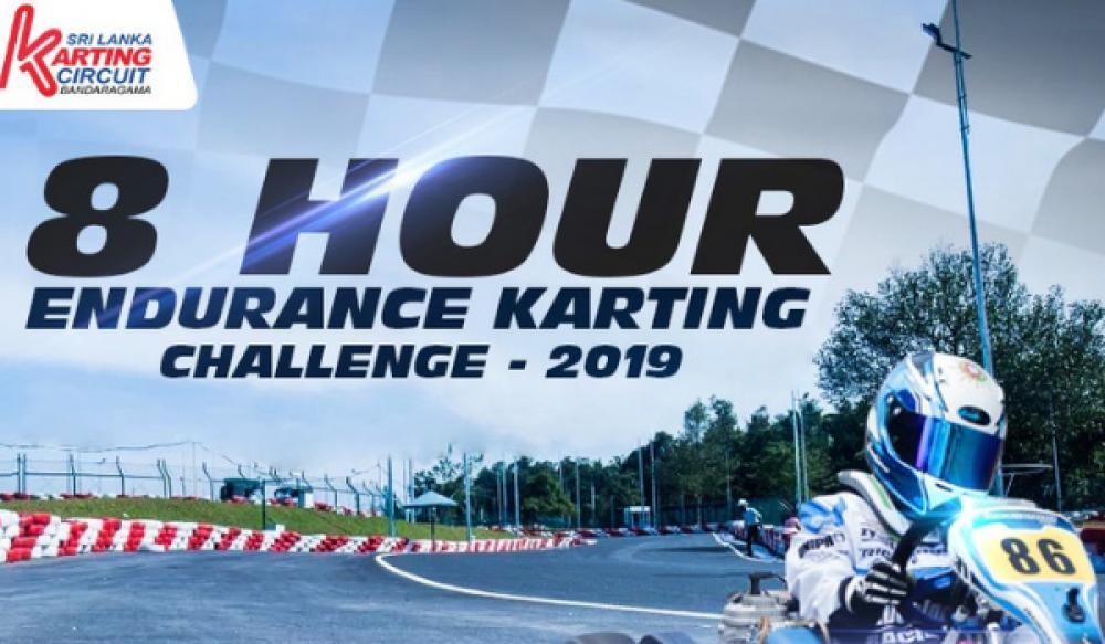 8 HOUR ENDURANCE KARTING CHALLENGE 2019