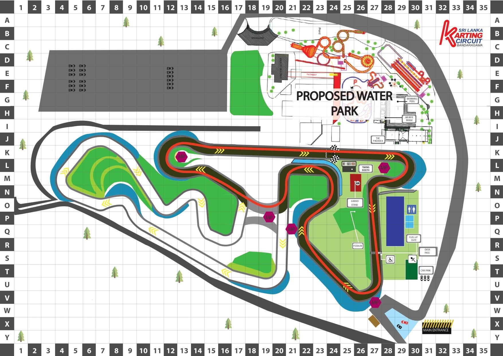 SL Karting Racing Line