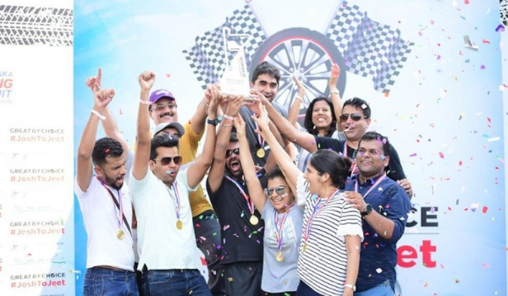 SLKC hosts Godrej India to an endurance karting race