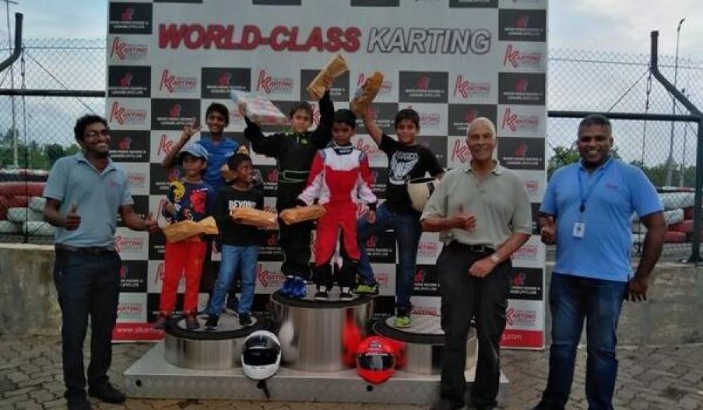 First-ever Cadet Kart Race at SLKC