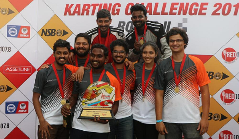 Sysco LABS win Corporate Endurance Challenge Round 2 at SLKC