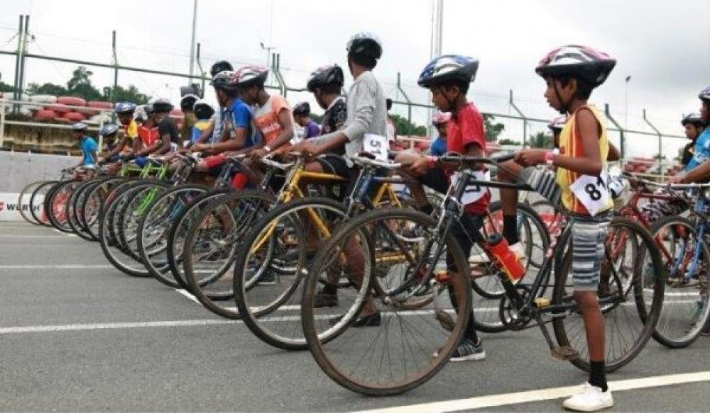 SLKC host Cycle Race for Bandaragama Villagers