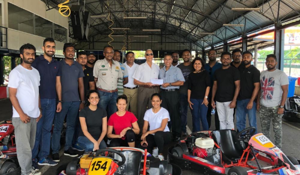 Redbird Aviation Team enjoys Karting at SLKC